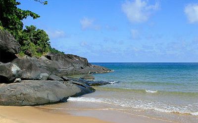 Bãi biển Đầm Trầu, Côn Đảo
