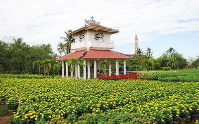khu tưởng niệm nhà bác học Trương Vĩnh Ký
