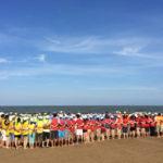 Team Building tại biển Hải Tiến