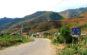 Con đường đi vào Thị trấn Mù Cang Chải