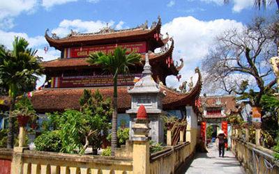 Tour Du Xuân: Hà Nội – Đền Bà Đế – Chùa Dư Hàng – Suối Rồng 1 Ngày