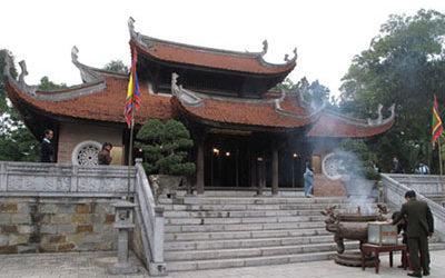 Tour Du Xuân: Hà Nội – Đền Mẫu Âu Cơ – Đền Cuông – 1 Ngày