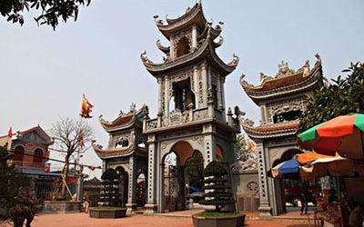 Tour Du Xuân: Hà Nội – Đền Trần – Phủ Giầy – Cổ Lễ – 1 Ngày
