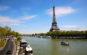 Tháp Eiffel nhìn từ dòng sông Seine