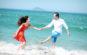 Niềm vui của cặp đôi tại Nha Trang