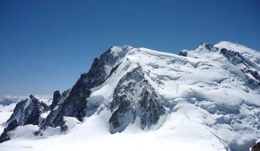 Kho báu được tìm thấy trên núi Mont Blanc.
