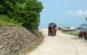 Xe tuk tuk tại đảo Quan Lạn